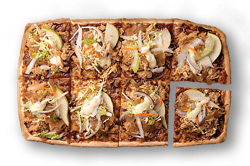 Pulled Pork & Slaw Upper Crust Pizzas