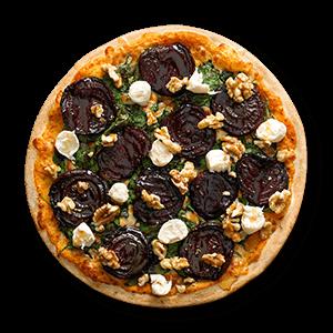 Roast Beetroot Vegetarian Pizzas
