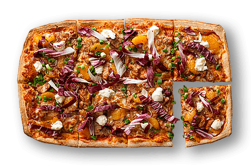 Sangria Duck Ragu Upper Crust Pizzas