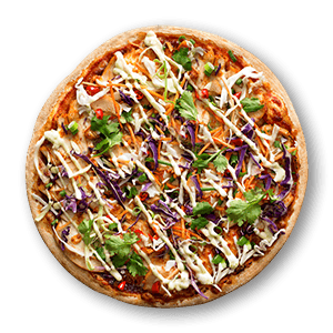 Vietnamese Chilli Chicken Chicken Pizzas