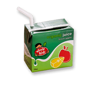 Whole Kids Organic Apple Juice (200ml)