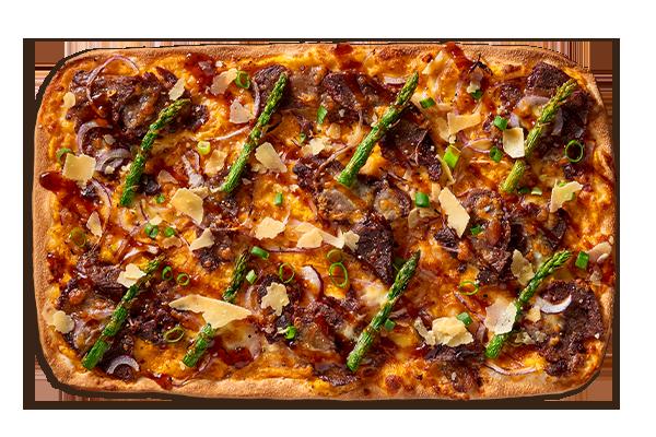Beef Cheek w/ Red Wine Jus Upper Crust Pizzas