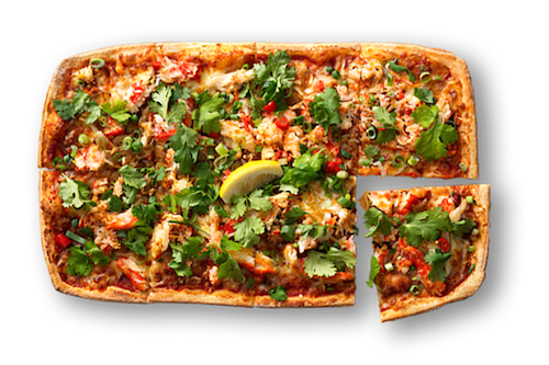 Singapore Chilli Crab Upper Crust Pizzas