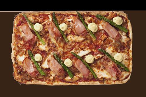 Chicken Cordon Bleu Upper Crust Pizzas