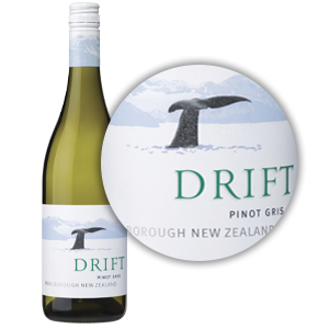Drift Pinot Gris Alcohol
