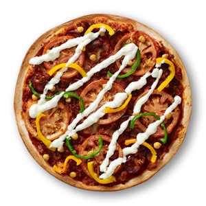 Moorish Pulled Lamb Street Food Pizzas