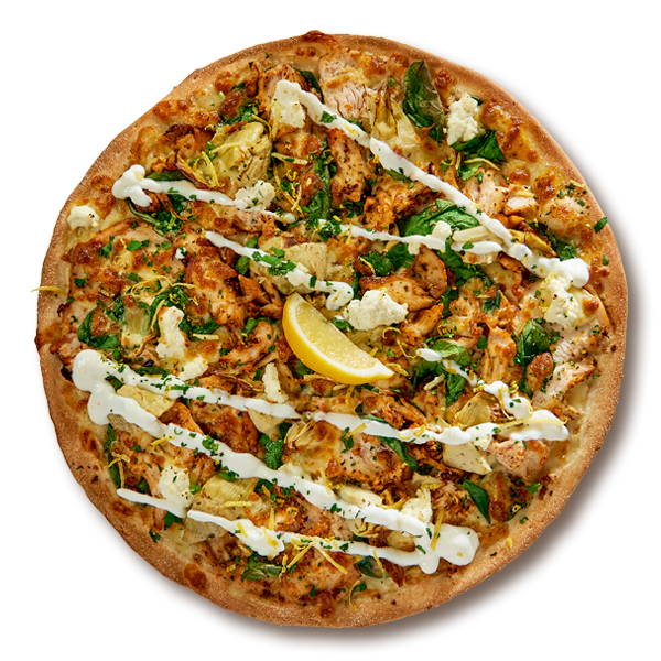 Lemon Gremolata Chicken Chicken Pizzas