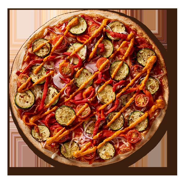 Mediterranean Romesco (Vegan) Vegan Pizzas