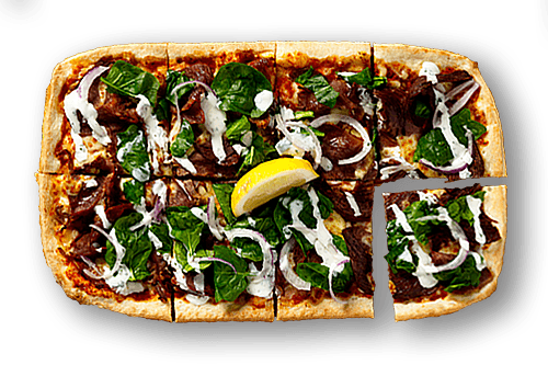 Moroccan Lamb Upper Crust Pizzas
