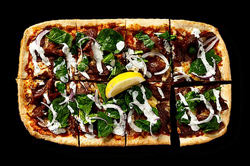Moroccan Lamb Upper Crust Pizzas