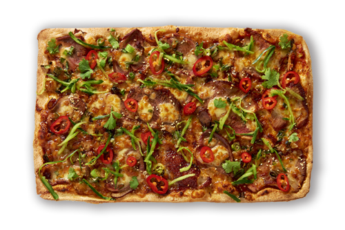 Peking Duck Upper Crust Pizzas