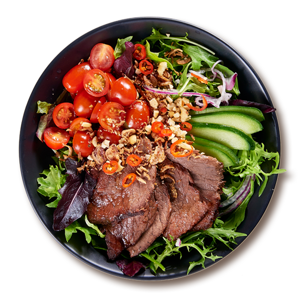 Thai Wagyu Beef Bowl Salads