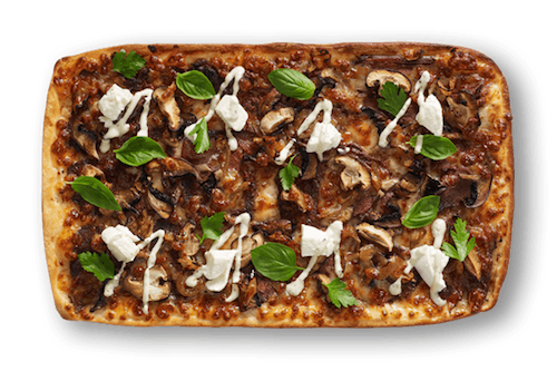 Truffle Beef Rossini Upper Crust Pizzas