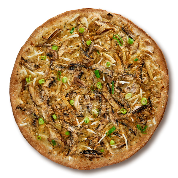 Herb Crusted Al Funghi (Vegan) Vegan Pizzas