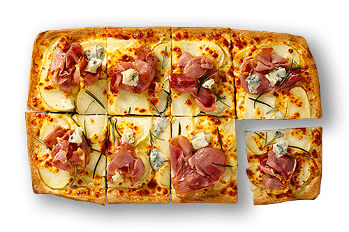 White Prosciutto Upper Crust Pizzas