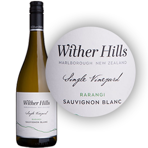 Wither Hills 'Rarangi' Sauvignon Blanc 2015 Alcohol
